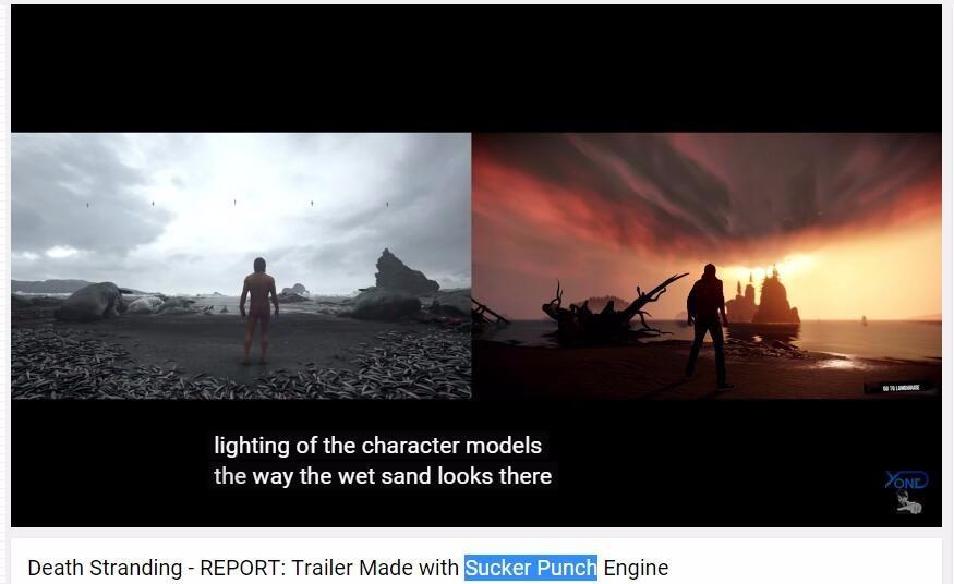《死亡搁浅》或将使用第三方游戏引擎