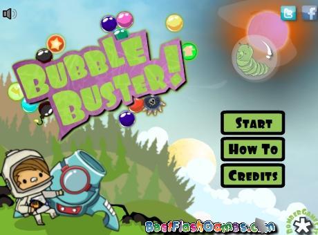 一款简单的泡泡龙游戏