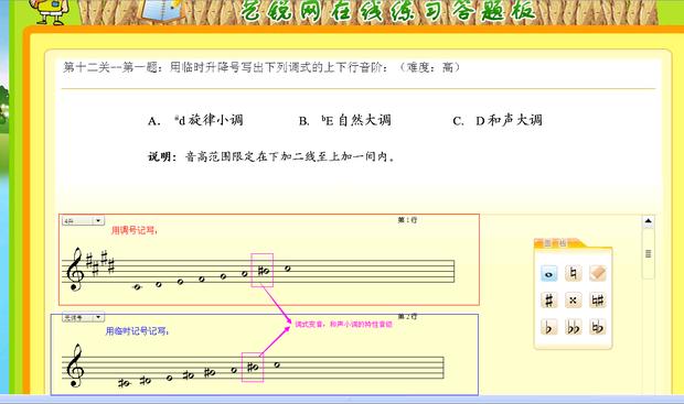 c调高音谱表-正如现在的c大调 c和d是全音,d 调式 基本乐理 十一   升号或一定数