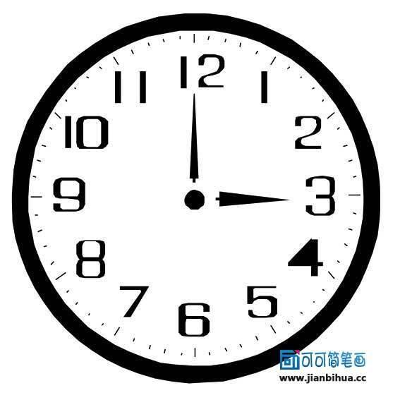 钟表时针矢量图