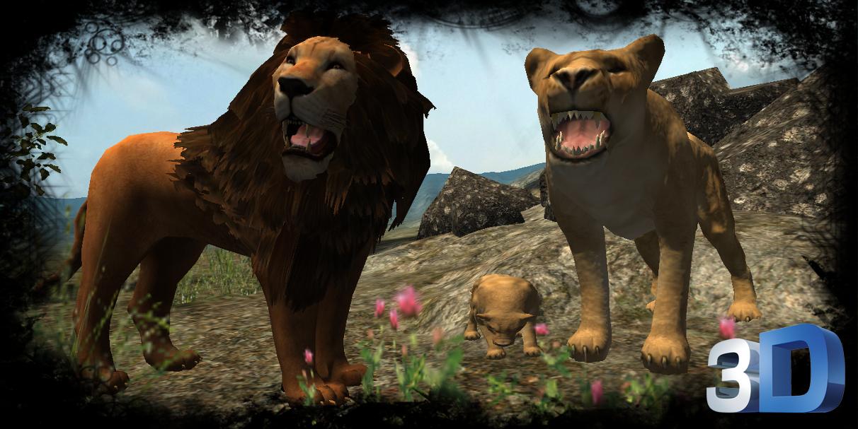 通过玩真狮子模拟器是在丛林中的所有动物的统治者