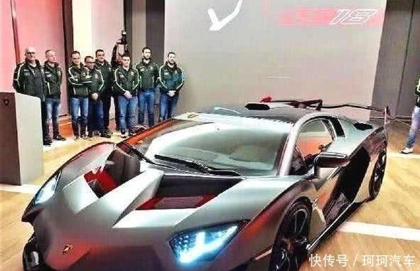 6000万兰博基尼全球仅一辆,被中国土豪买下,员工弯腰交车