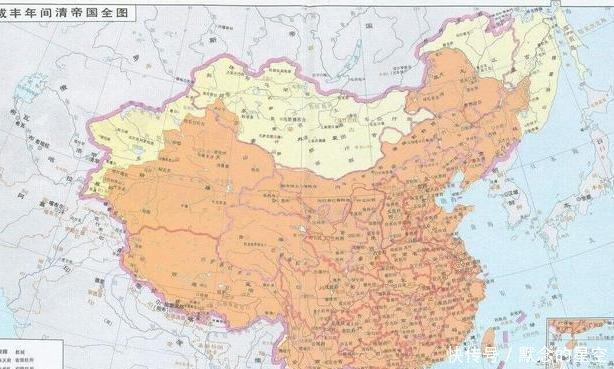 内蒙古与蒙古国对比,黄金家族居住的地方在哪儿 如何出去的