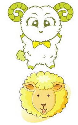 卡通羊简笔画怎么画