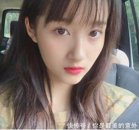 女星齐刘海造型,杨颖甜美,郑爽像小仙女,但都输给了49图片