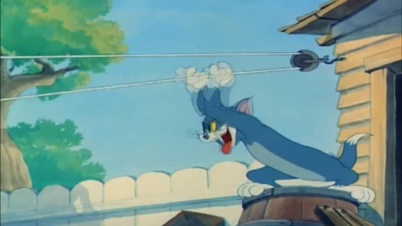 猫和老鼠:狗哥真的太贪吃,汤姆一片肉就把它骗走了,杰瑞完了