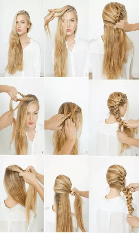 发型设计步骤图片展示图片