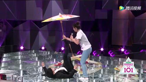【花絮】吕小雨教张杰杂技蹬伞,黄子韬罗志祥抢着递水