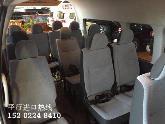 进口丰田海狮客车15座中东版 现车优惠价