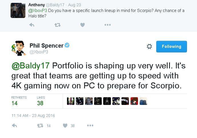 Xbox天蝎座主机加速4K测试