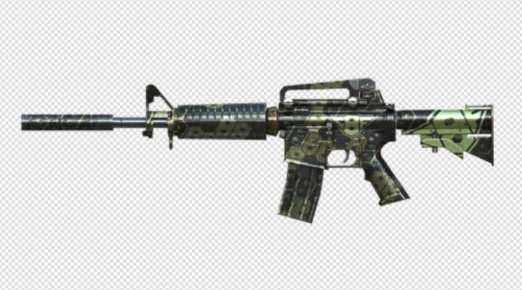 CF8周年武器M4A1和AK47哪个好?外观属性对比