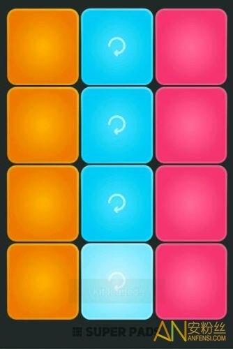 superpads怎么弹歌曲sugar数字谱子 步骤分解视频教程