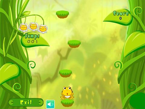 小青蛙跳跳