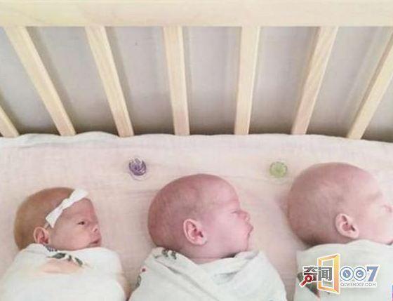 (文摘)她生下三胞胎后又怀上三胞胎 这样画面难得一见 - aihua191 -    aihua191的 博 客