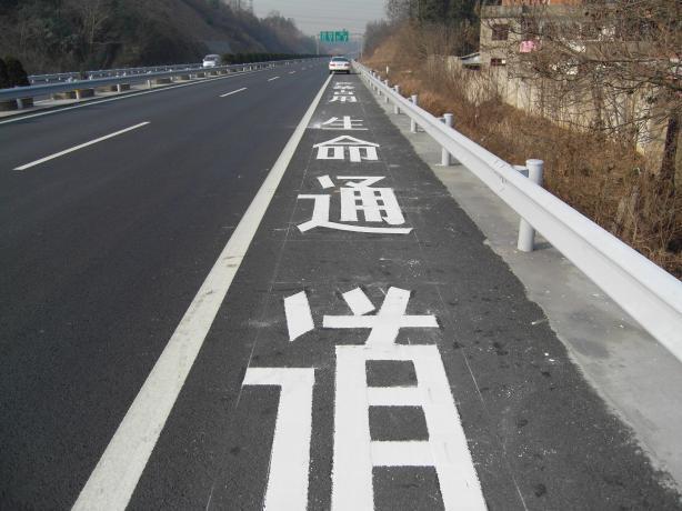 彩铅手绘车道风景