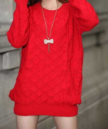 白色毛衣和红色衣服一起洗