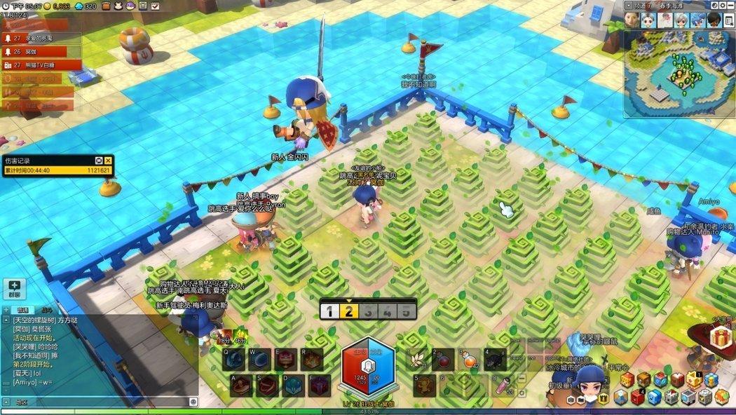 冒险岛2春季海滩小游戏玩法介绍