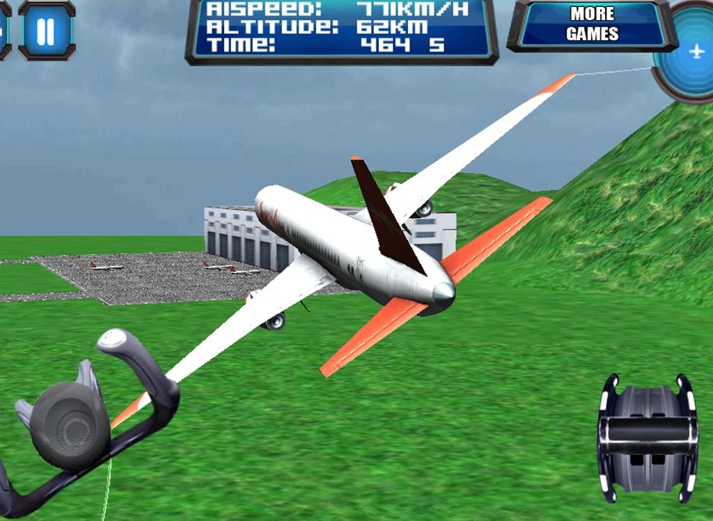 3d飞机飞行模拟器飞